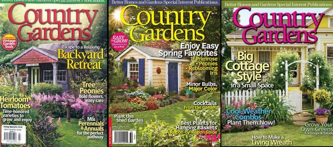 Discovering Country Gardens Magazine Homestead Gardens Inc