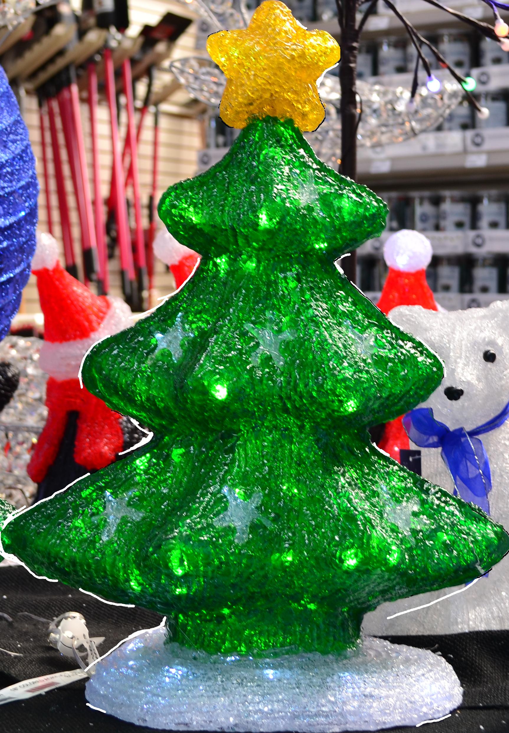 acrylic-tree