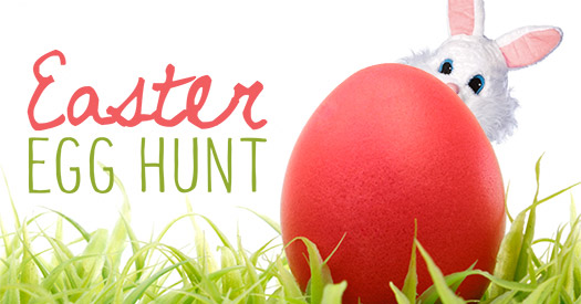 banner easter egg hunt