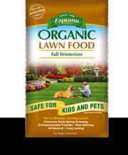 Espoma Organic Lawn Food Fall Winterizer