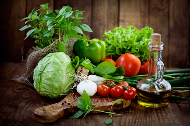 Herb and Vegetables, Organic Food