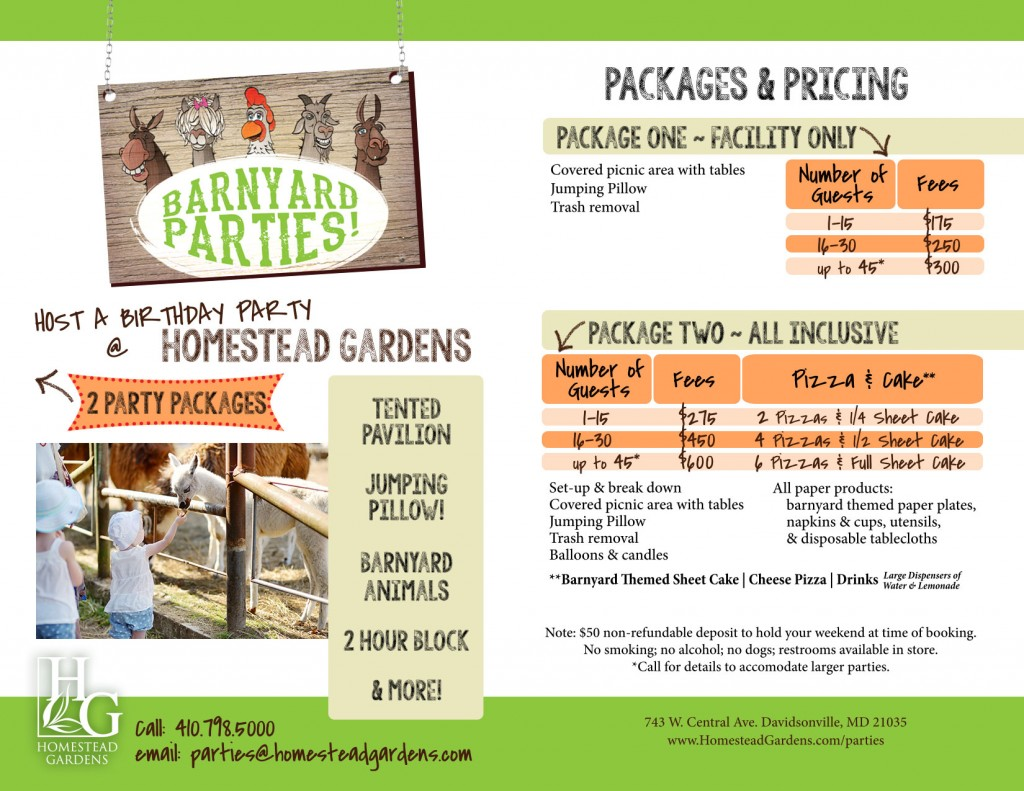 Click to Download our Package & Pricing Flyer…