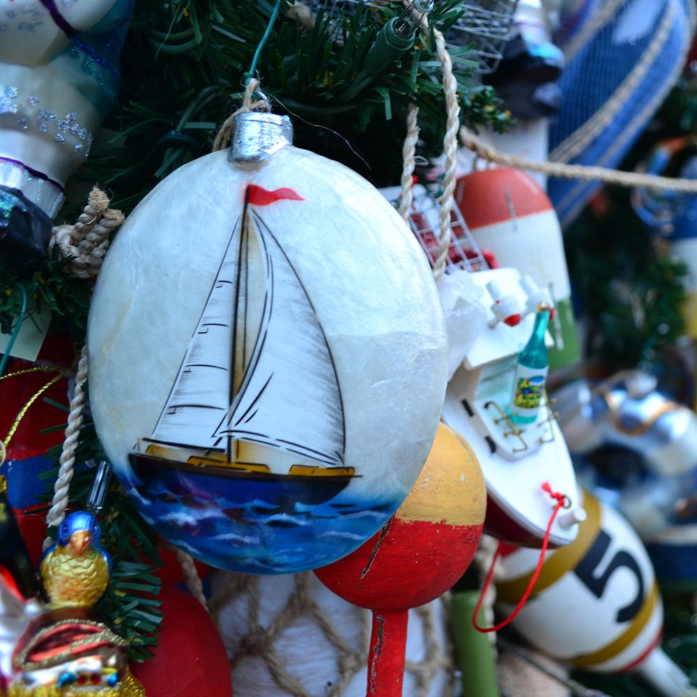 Nautical tree ornaments - Nautical Tree 1000x1000